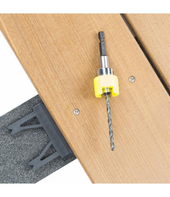NOVLEK : Fraisoir terrasse + foret diam.4mm