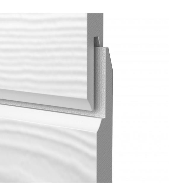 HardiePlank  VL Cedar (emboitement) 3600x182x11mm Blanc Arctique (mĠ utile)