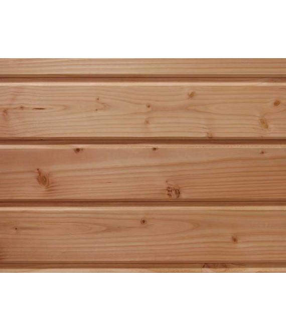 bardage en bois douglas naturel purgé d'aubier