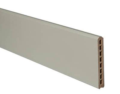 lame cran claustra bois composite silvadec atmosph re gris clair 21x150mm lg. Black Bedroom Furniture Sets. Home Design Ideas