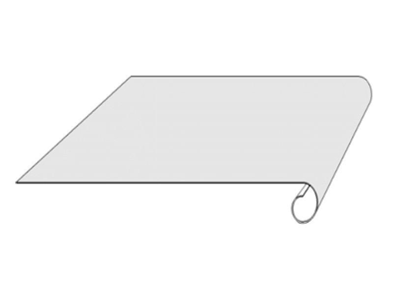rubbercover bande de rive bourlet 2ml dev 125 alu. Black Bedroom Furniture Sets. Home Design Ideas