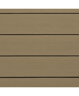 Bardage HardiePlank CEDAR Brun Khaki  - 3.60mx0.180m – Ep = 8mm