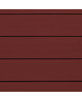 Bardage HardiePlank CEDAR Rouge Traditionnel - 3.60mx0.180m – Ep = 8mm
