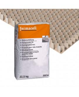 Granules pour nid d'abeilles FERMACELL D. 1/4 mm - Sac de 15 L.