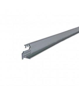 Entretoise T24 Ep. 40/100 1 lumière axée Super blanc / Lg 600 mm - Paquet de 75