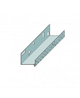 Pavasca Profil de socle en aluminium 80mm en 2m50