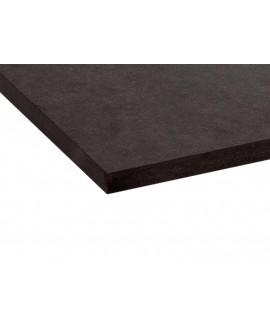 MDF Fibracolor noir 2850x2100x19 mm