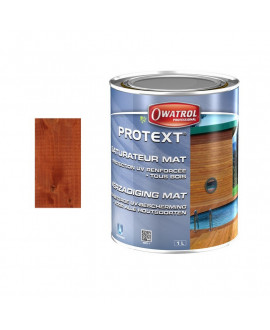PROTEXT Padouk – Saturateur mat – Seau de 5L