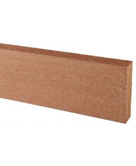 Jupe de finition Elegance brun exotique 20x70mm - Lg = 2.00m