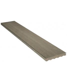 Planche de finition lisse grise iroise 23x180mm - Lg = 4.00m