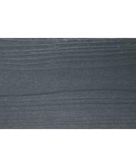 Bardage NELIO épicéa couleur traité CL3A Gris ardoise 21x125 mm - Lg = en 4.20m