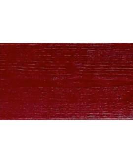 Bardage NELIO épicéa couleur traité CL3A Rouge rubis 21x125 mm - Lg = en 4.20m