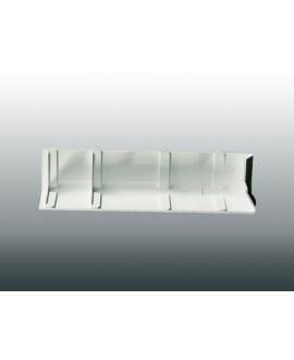 MEP Angle extérieur 90Ḟ bandeau HAE1890 18 cm blanc