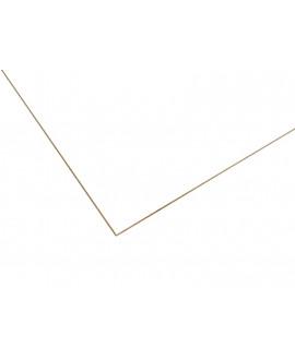 MDF Fibraprint Blanc 2 faces prépeint semi mate 2440x1220x03 mm
