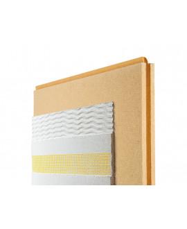 Panneaux fibre de bois Pavawall GF Ép = 100mm - 580mm x 1.45m - R = 2.50 Colis de 0.84 m²