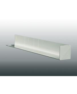MEP Angle extérieur 90Ḟ RIVECEL 9 PVC H.30 cm blanc RCA3