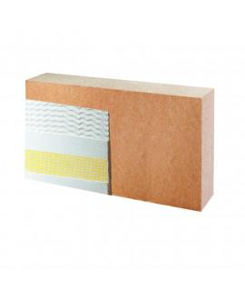 Panneaux fibre de bois Pavawall SMART Ép = 120mm - 400mm x 800mm - R = 3.05 Colis de 0.32 m²