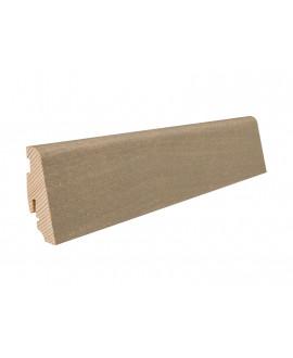 Plinthe à emboiter bois massif plaqué Chêne huilé Chêne Puro Stone - Dim = 19x58x2200mm