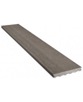 Lame Atmosphère lisse gris anthracite 23x138mm - Lg = 4.00m