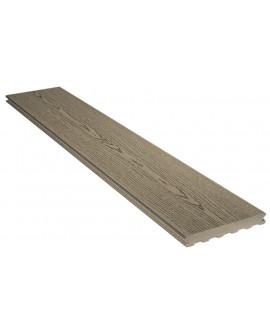 Lame Elégance structurée gris iroise 23x138mm - Lg = 4.00m