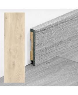 Plinthe PERGO vinyle Chêne moderne gris - Dim =9x48x2000 mm