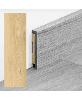 Plinthe PERGO vinyle Chêne moderne nature - Dim =9x48x2000 mm