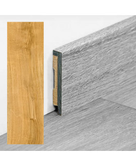 Plinthe PERGO vinyle Chêne classic nature - Dim =9x48x2000 mm