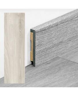 Plinthe PERGO vinyle Chêne gris clair - Dim =9x48x2000 mm