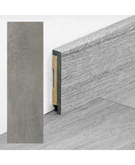 Plinthe PERGO vinyle Béton gris foncé - Dim =9x48x2000 mm