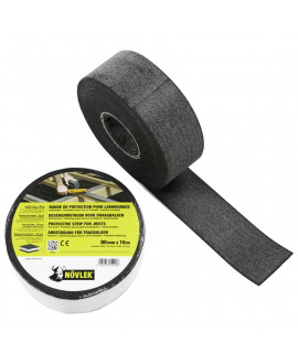 NOVLEK : Bande bitumeuse pour lambourdage 80mm, 16ML pour environ 5m² de terrasse
