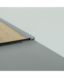 Profil d'arrêt alu vinyl PERGO 7 x 18 mm x 2 m