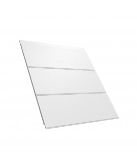 HardiePlank  VL Smooth (emboitement) 3600x182x11mm Blanc Arctique  (mĠ utile)
