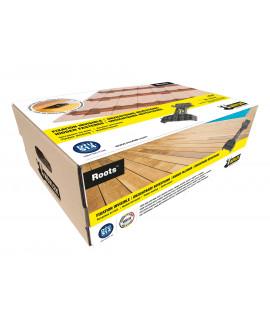 NOVLEK Système ROOTS Kit fixation invible (+/- 6m2 en 145mm).