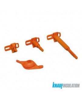 Appui AcoustiZAP 2 Réno 30-45mm (épaisseur isolant) - 50/Bte