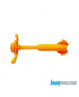Appui AcoustiZAP 2  120-180mm (épaisseur isolant) - 50/Bte