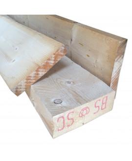 Sapin Blanc 75x200mm – Lg = de 3.90m à 5.10m
