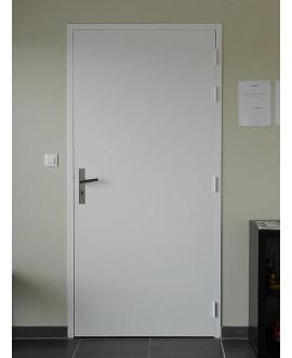 Bloc-porte alvéolaire pré-peint plan H. 88X58 83 G/P SER 1/2T