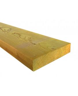 Bois d'ossature douglas 45x145mm – Lg = 5.50 à 13.00m traité classe 2