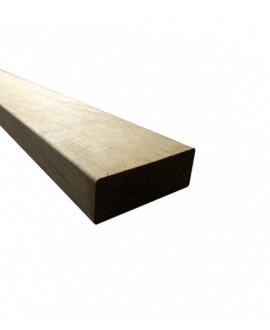 Bois de structure nord rouge traité classe 4 vert 70x145mm – Lg = de 3.60m à 6.00m