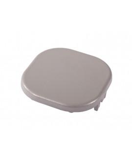 Capot SILVADEC aluminium Gris Métal 70x70mm finition lisse