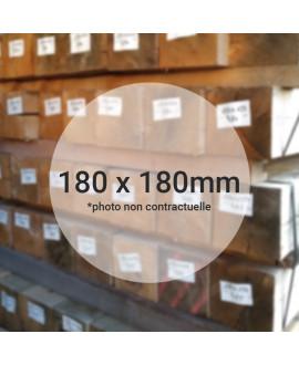 Bois de charpente chêne ressuyé 180x180mm 4.20M