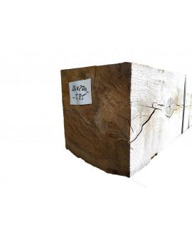Bois de charpente chêne ressuyé 220x220mm