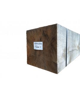 Bois de charpente chêne ressuyé 250x250mm