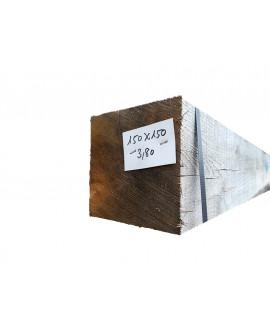 Bois de charpente chêne ressuyé 150x150mm