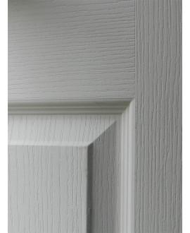 Porte seule postformée âme alvéolaire prépeinte confort (3 panneaux) chant dégraissé sans usinage