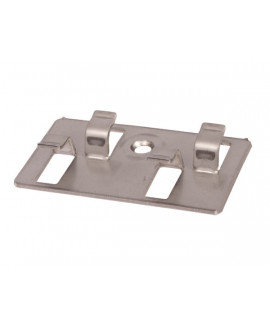 Clips + vis d'aboutage inox