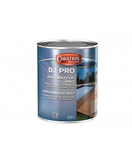 D.1 PRO Saturateur pour bois tropicaux extérieurs et intérieurs