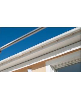 MEP Bandeau PVC H184 18 cm blanc en 4m00
