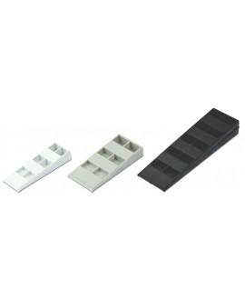 Cales crantées HAPAX pour terrasse et plancher Dim = 14x30x90mm – 15x43x95mm – 22x43x450mm - Bte 200 pièces mélangées