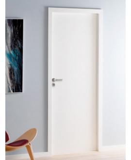 Bloc-porte isoplane âme pleine prépeinte profil à recouvrement joint confort intégré